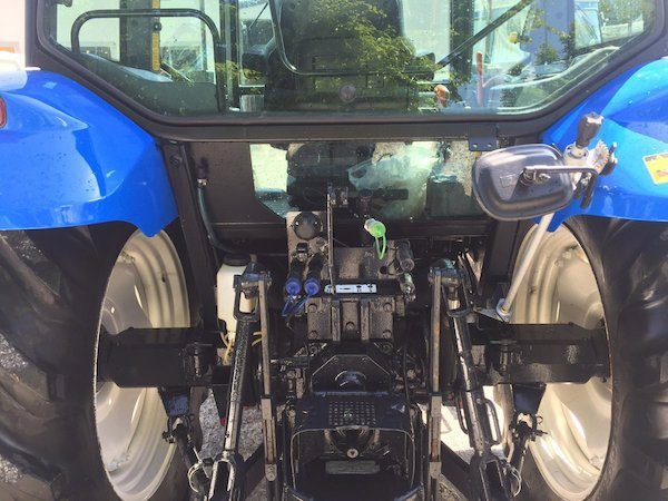 NEW HOLLAND TL100A pto view new and old tractors west ireland