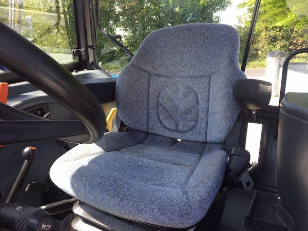 NEW HOLLAND TL100A seat view new and old tractors and parts west ireland