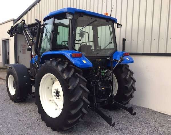 NEW HOLLAND TL90 rear side view new and old tractors and parts west ireland