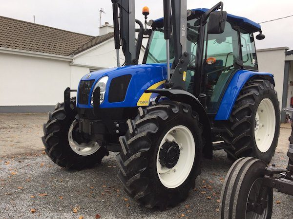 new holland t5060 front side view tractor parts west ireland