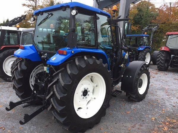 new holland t5060 rear side view new and old tractors and parts west ireland