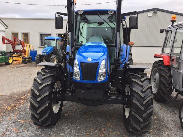 new holland t5060 front view new tractors west coast