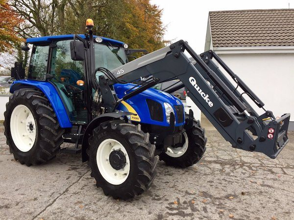 new holland t5060 side view new tractor parts galway